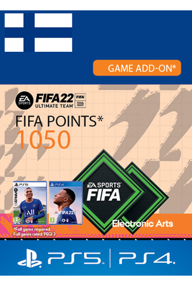 FIFA 22 - 1050 FUT Points (Finland) (PS4 / PS5)