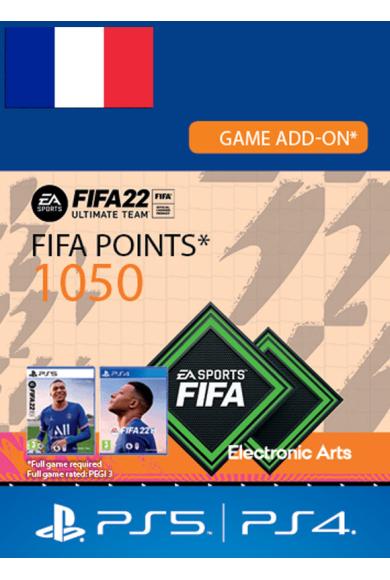FIFA 22 - 1050 FUT Points (France) (PS4 / PS5)