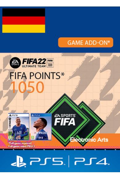 FIFA 22 - 1050 FUT Points (Germany) (PS4 / PS5)