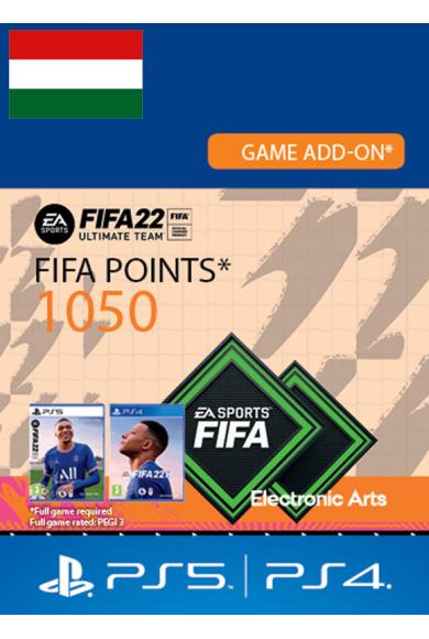 FIFA 22 - 1050 FUT Points (Hungary) (PS4 / PS5)