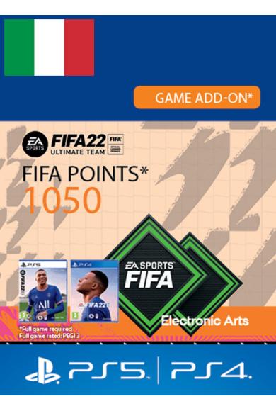 FIFA 22 - 1050 FUT Points (Italy) (PS4 / PS5)