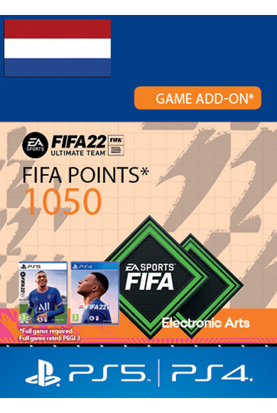 FIFA 22 - 1050 FUT Points (Netherlands) (PS4 / PS5)
