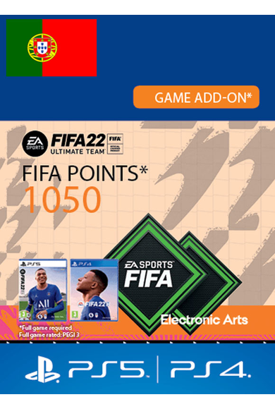 FIFA 22 - 1050 FUT Points (Portugal) (PS4 / PS5)