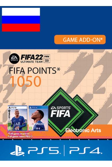 FIFA 22 - 1050 FUT Points (Russia - RU/CIS) (PS4 / PS5)