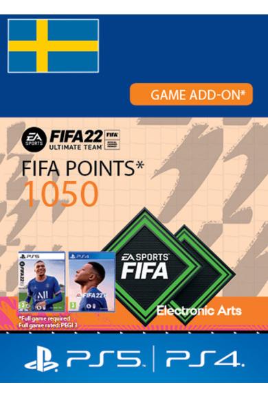 FIFA 22 - 1050 FUT Points (Sweden) (PS4 / PS5)