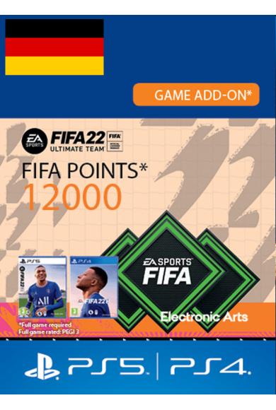 FIFA 22 - 12000 FUT Points (Germany) (PS4 / PS5)