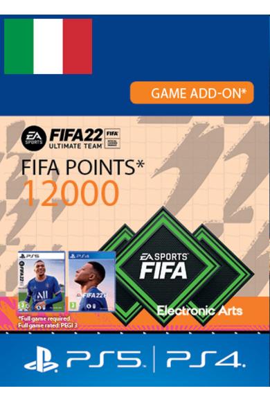 FIFA 22 - 12000 FUT Points (Italy) (PS4 / PS5)