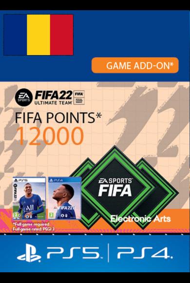 FIFA 22 - 12000 FUT Points (Romania) (PS4 / PS5)