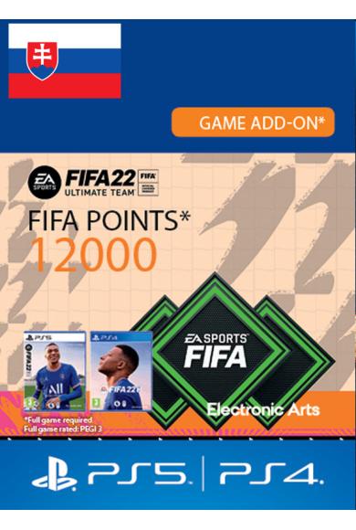 FIFA 22 - 12000 FUT Points (Slovakia) (PS4 / PS5)
