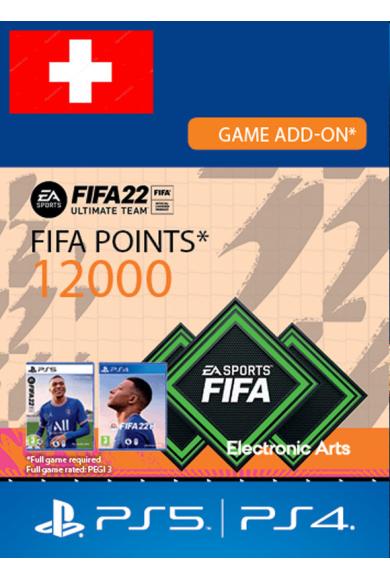 FIFA 22 - 12000 FUT Points (Switzerland) (PS4 / PS5)