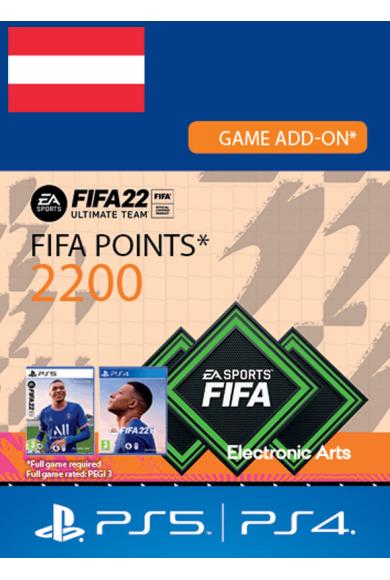 FIFA 22 - 2200 FUT Points (Austria) (PS4 / PS5)