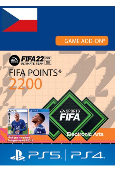 FIFA 22 - 2200 FUT Points (Czech Republic) (PS4 / PS5)