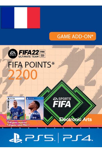 FIFA 22 - 2200 FUT Points (France) (PS4 / PS5)