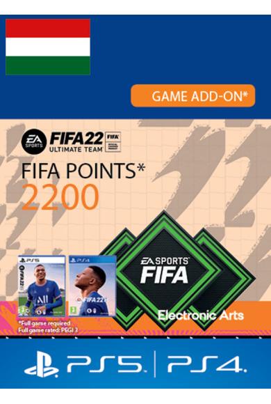 FIFA 22 - 2200 FUT Points (Hungary) (PS4 / PS5)