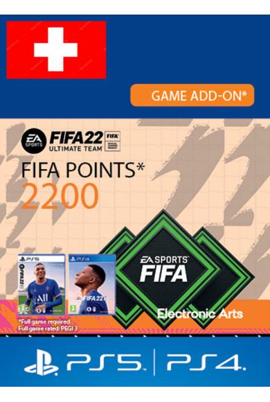 FIFA 22 - 2200 FUT Points (Switzerland) (PS4 / PS5)