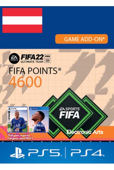 FIFA 22 - 4600 FUT Points (Austria) (PS4 / PS5)