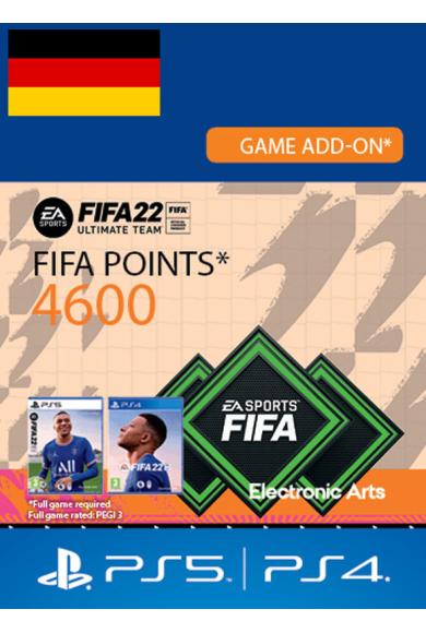 FIFA 22 - 4600 FUT Points (Germany) (PS4 / PS5)