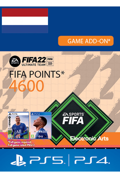 FIFA 22 - 4600 FUT Points (Netherlands) (PS4 / PS5)