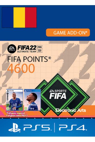 FIFA 22 - 4600 FUT Points (Romania) (PS4 / PS5)