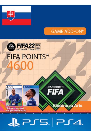 FIFA 22 - 4600 FUT Points (Slovakia) (PS4 / PS5)