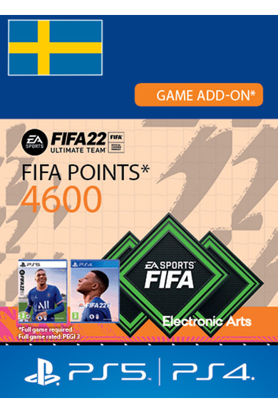 FIFA 22 - 4600 FUT Points (Sweden) (PS4 / PS5)