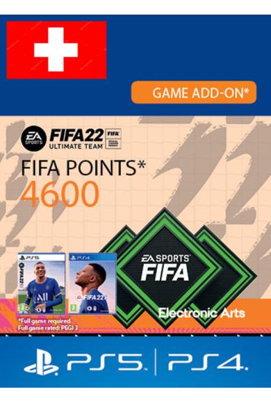 FIFA 22 - 4600 FUT Points (Switzerland) (PS4 / PS5)