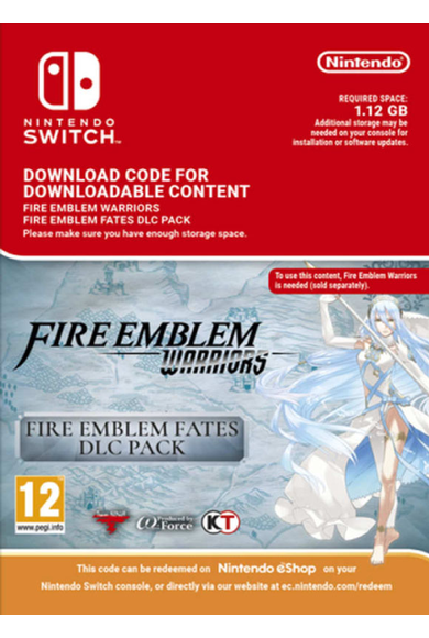 Fire Emblem Warriors: Fire Emblem Fates Pack (DLC) (Switch)