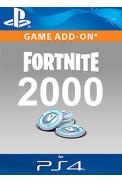 Fortnite - 2000 V-Bucks (PS4)