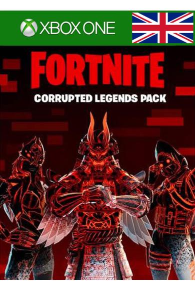 Fortnite - Corrupted Legends Pack (UK) (Xbox One)