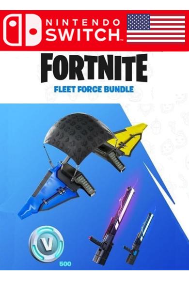 Fortnite - Fleet Force Bundle (USA) (Switch)
