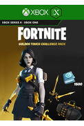Fortnite - Golden Touch Challenge Pack (DLC) (Xbox One / Series X|S)