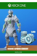 Fortnite - Legendary Rogue Spider Knight Outfit + 2000 V-Bucks (DLC) (Xbox One)
