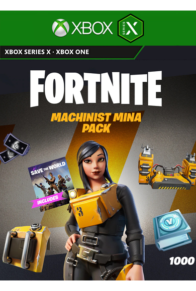 Fortnite - Machinist Mina Pack (DLC) (Xbox One / Series X|S)