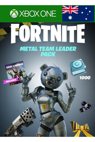 Fortnite - Metal Team Leader Pack (Australia) (Xbox One)