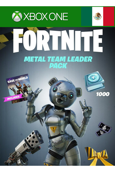 Fortnite - Metal Team Leader Pack (Mexico) (Xbox One)