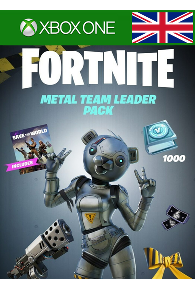 Fortnite - Metal Team Leader Pack (UK) (Xbox One)