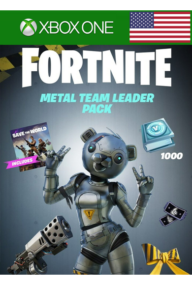 Fortnite - Metal Team Leader Pack (USA) (Xbox One)