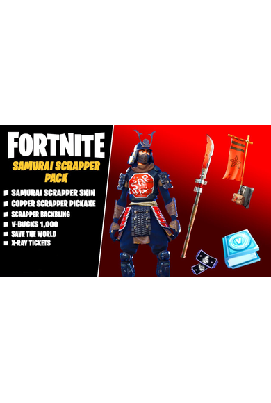Fortnite - Samurai Scrapper Pack (UK) (Xbox One / Series X|S)