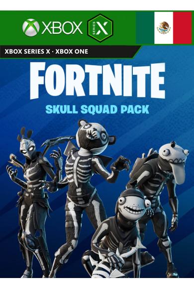Fortnite - Skull Squad Pack (DLC) (Mexico) (Xbox One / Series X S)