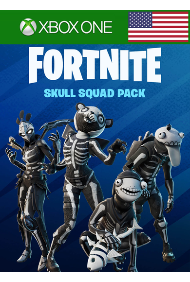 Fortnite - Skull Squad Pack (DLC) (USA) (Xbox One)
