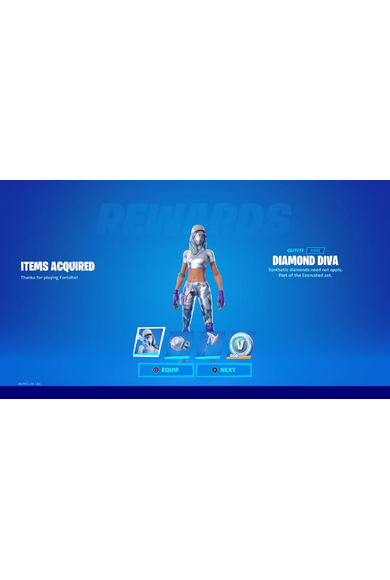 Fortnite The Diamond Diva Pack (DLC) (Xbox One)