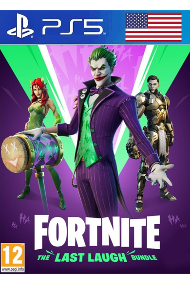 Fortnite: The Last Laugh Bundle (USA) (PS5)