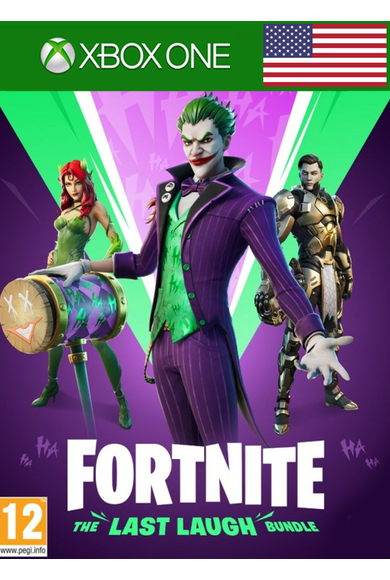 Fortnite: The Last Laugh Bundle (USA) (Xbox One)