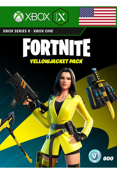 Fortnite - The Yellowjacket Pack (USA) (Xbox One / Series X|S)