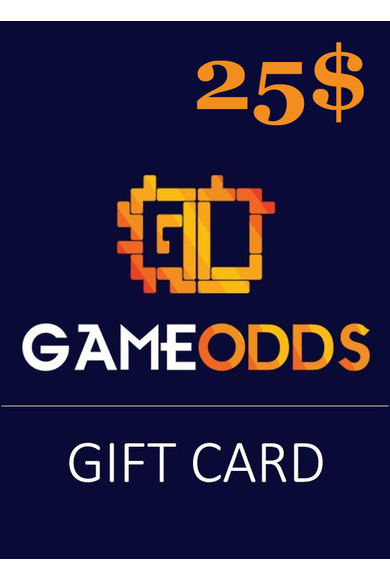 GAMEODDS.GG Gift Card 25$ (USD)
