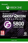 Tom Clancy's Ghost Recon: Breakpoint - 5800 Ghost Coins (Xbox One)