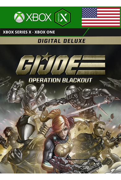G.I. Joe: Operation Blackout - Deluxe Edition (USA) (Xbox Series X)