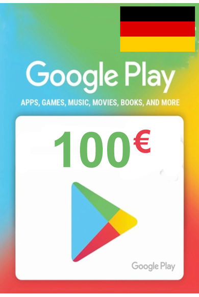Google Play 100€ (EUR) (Germany) Gift Card