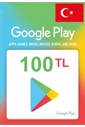 Google Play 100 (TL) (Western Asia) Gift Card