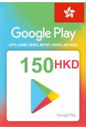 Google Play 150 (HKD) (Hong Kong) Gift Card